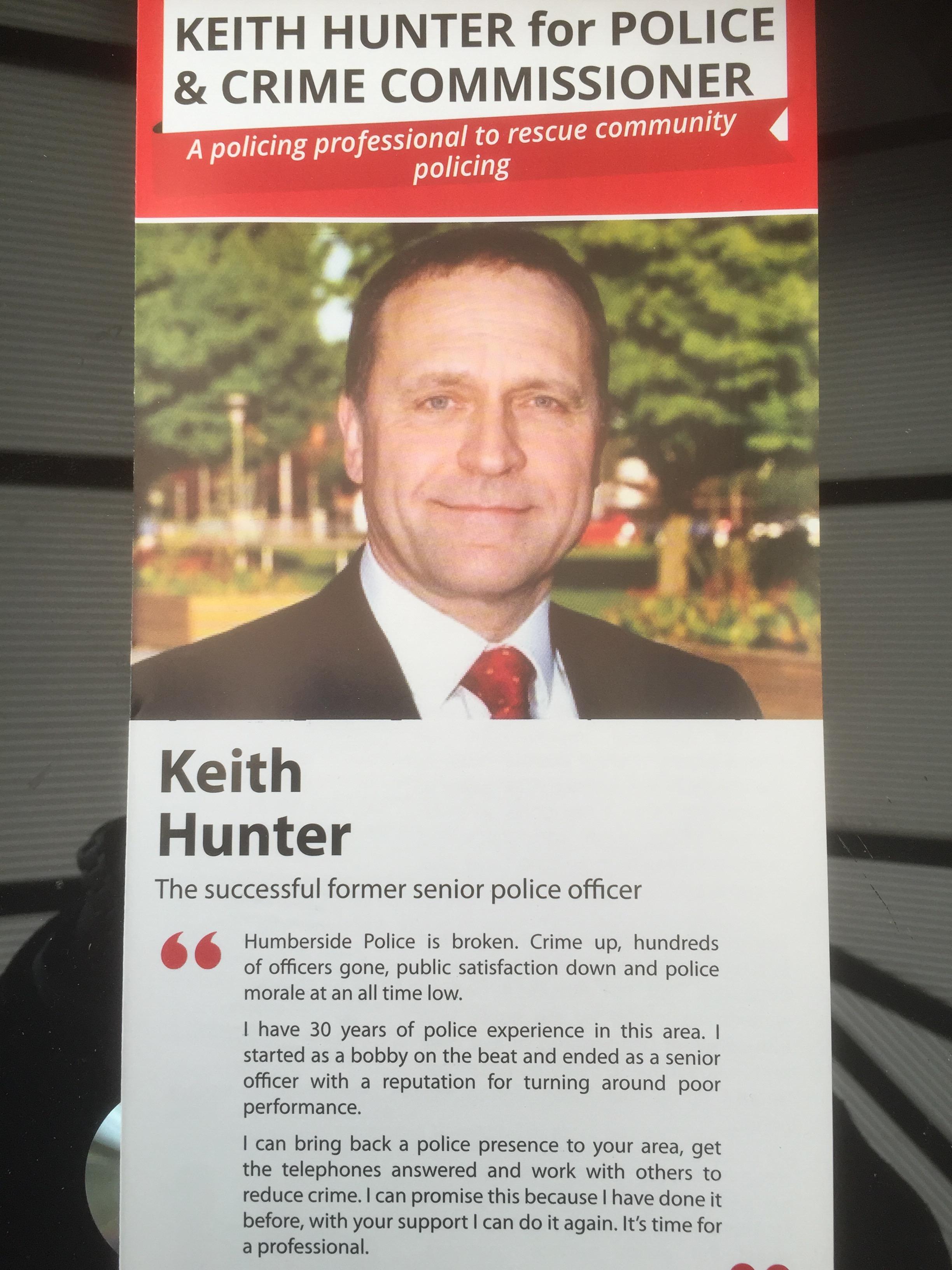 keith hunter david prescott learning from defeat